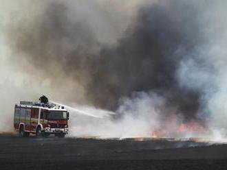 Bratislava v plameňoch: Hasiči musia zasahovať pri dvoch požiaroch naraz