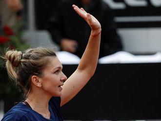 Halepová prvou finalistkou turnaja WTA v Ríme