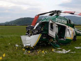 Príčinou pádu policajného vrtuľníka bola technická porucha. Pilot nezlyhal