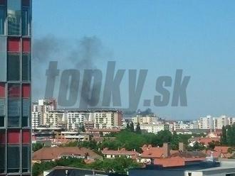 PRÁVE TERAZ Bratislava v ohni: Horí na dvoch miestach