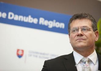 ŠEFČOVIČ: SR nesie v diskusiách o EÚ zodpovednosť za strednú Európu