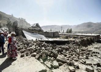 Zemetrasenie zasiahlo juh Peru