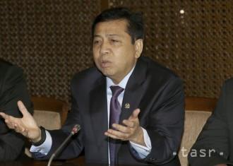 Predseda parlamentu Indonézie odmieta obvinenia v korupčnej kauze
