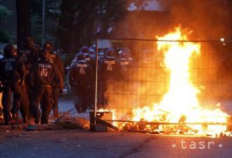 Poisťovne: Demonštranti v Hamburgu spôsobili škody za 12 miliónov eur