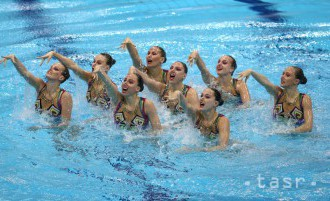 Na MS v synchronizovanom plávaní zlato v technických tímoch pre Rusky