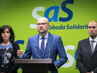 Národnoštátnym záujmom Slovenska je, aby Fico a spol. skončili na smetisku dejín, tvrdí SaS