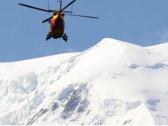 Dráma na Mont Blancu: Pod kňazmi zo Slovenska sa utrhla skala