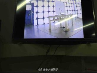 Objevily se fotky, na kterých je údajná   Apple OLED TV rdquo  v testovacím zařízení