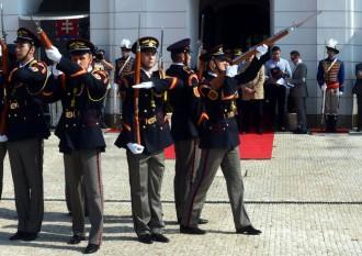 Príslušníčky prezidentovej stráže: Čestná stráž nie je len na okrasu