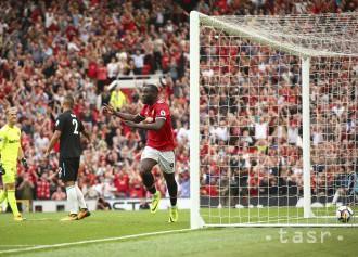Lukaku dvoma gólmi zariadil výhru Manchestru United nad West Hamom