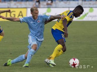 FORTUNA LIGA: Slovan doma remizoval s Dunajskou Stredou
