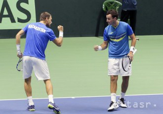 Davis Cup: Po štvorhre vedie Kazachstan nad Argentínou