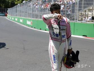 Perez predĺžil kontrakt s Force India o ďalší rok