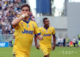 Juventus zdolal Sassuolo, Dybala sa blysol hetrikom