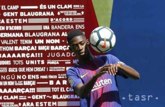 Futbalista Barcelony Dembélé si tento rok zrejme nezahrá. Zranil sa