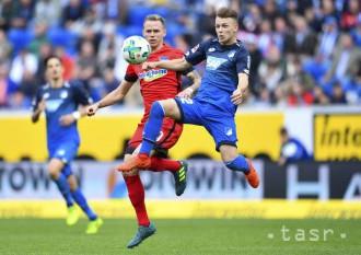 Hertha s Pekaríkom a Dudom remizovala v Hoffenheime 1:1
