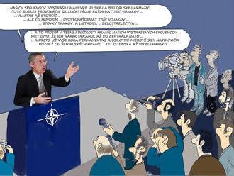 Stoltenberg a ruské manévre