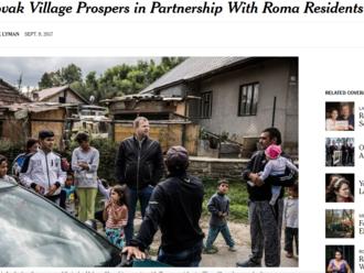 Láska v Spišskom Hrhove, ktorú si všimli v The New York Times