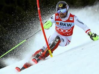 Hirscher je na čele po 1. kole slalomu, Andreas Žampa neštartoval