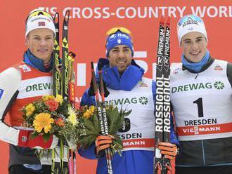 V tímšprinte na lyžiach v Drážďanoch triumfovali Taliani i Švédky