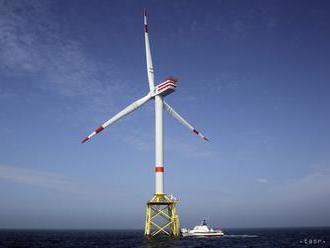 Veterné parky v Severnom mori vlani vyprodukovali 16 TWh energie