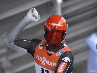 V sánkovaní triumfoval na domácej trati v Oberhofe Loch