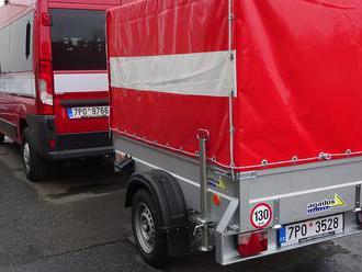 Při živelních pohromách pomůže hasičům vHlavňovicích na Klatovsku nová technika