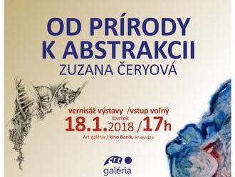 Od prírody k abstrakcii - Zuzana Čeryová
