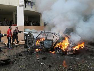 V Libanone výbuch bomby zranil príslušníka Hamasu