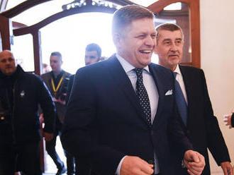 Fico: Zeman je brutálne inteligentný, české voľby nekomentujem