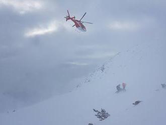 Horskí záchranári varujú pred ľadom