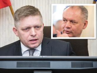 Fico sa opäť obul do Kisku: Zaujíma ho financovanie kampane spred štyroch rokov, vyzval prezidenta
