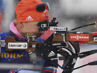 Slovenská biatlonistka Nasťa Kuzminová prišla o žlté tričko