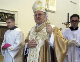 Arcibiskup Ján Sokol oslávil 85 rokov ďakovnou omšou