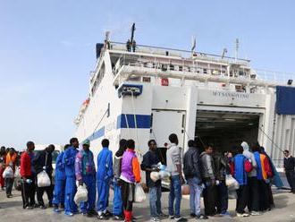 Na taliansky ostrov Lampedusa dorazilo 70 migrantov