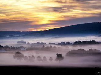 SHMÚ varuje pred hmlou na strednom a východnom Slovensku