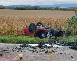 Z auta pri nehode v Budkovciach vypadol chlapec