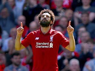 Salah skóroval za Egypt priamo z rohu, nedohral pre svalové zranenie