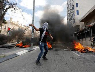 Palestínčanku na západnom brehu Jordánu zabil kameň hodený izraelskými osadníkmi
