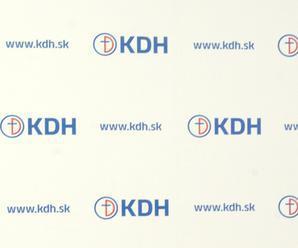 KDH si zatiaľ prezidentského kandidáta nevybralo
