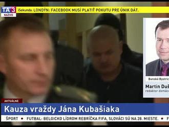 V kauze Kubašiak pokračuje pojednávanie, Rochovský na súd neprišiel
