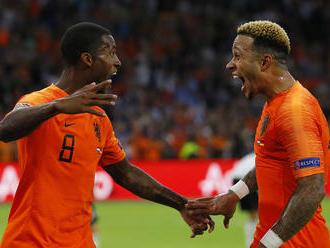 Holandsko uštedrilo v Lige národov Nemecku tvrdú porážku