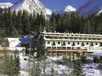 Zimný wellness pobyt na Štrbskom Plese v 3  hoteli Toliar s polpenziou
