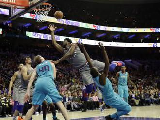 NBA: Embiid doviedol Philadelphiu k víťazstvu nad Charlotte