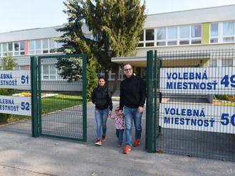 V Moldave nad Bodvou volia voliči rôznych vekových kategórií