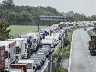 Vo Vyšnom Nemeckom sa zvyšujú čakacie doby v nákladnej doprave