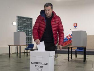 Danko už odvolil, komunálne voľby sú pre neho príležitosťou na zmenu