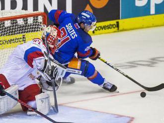 NEMECKÝ POHÁR: Hokejisti SR podľahli aj Rusku, najlepšie skončia tretí