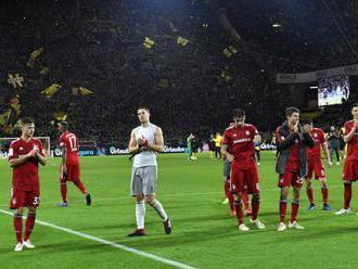 Borussia Dortmund zdolala Bayern Mníchov 3:2 v 11. kole nemeckej ligy