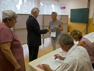 Priebeh volieb v Gabčíkove je bezproblémový a bez narušení